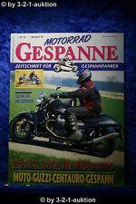 Motorrad Gespanne Nr.39 3/97 Moto Guzzi Centauro Suzuki DR Big Gespann
