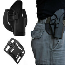 CS Right Hand Belt Paddle Gun Holster Quick Tactical Fit for Glock 19 22 23 32