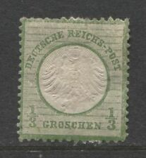 1872 Germany  1/3 Groschen  small Shield issue  mint*, € 650.00