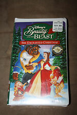 Disney's Beauty and the Beast An Enchanted Christmas on VHS new