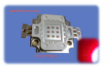 LED 10w fondo rosso 11V 900mA 600lm 660nm  per acqurio,faretto led 10w deep red