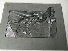 HONEY I BLEW UP THE KID 1992ORIGINAL STORYBOARD ART CARL ALDANA  CAR UPSIDE DOWN