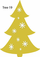 Christmas Tree Retail Shop Window Display Vinyl Sticker Wall Sticker V19