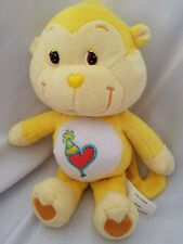"PLAYFUL HEART MONKEY Care Bears Cousin Play Along Plush Toy 9"" 2004"