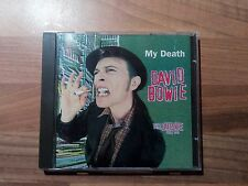 David Bowie CD My Death The Outside Tour 1995 Live in Oslo Zustand Excellent RAR