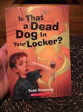 Is That a Dead Dog in Your Locker? Tod Strasser Scholastic Wacky Tale Funny