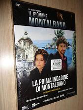 DVD N°1 IL GIOVANE MONTALBANO RIONDINO CAMILLERI LA PRIMA INDAGINE DI MONTALBANO