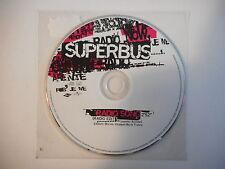 SUPERBUS : RADIO SONG - EDIT MIX (PROMO)  ★ CD Port Gratuit ★