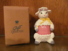 AVON GIFT COLLECTION EGG PALS LAMB NIB 1997