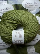 Debbie Bliss Cashmerino Aran shade 502 Lime