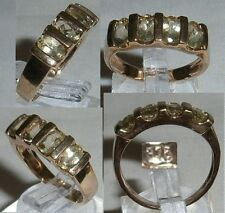 Ring 375 Gold mit Citrin