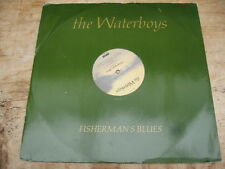 "THE WATERBOYS Fisherman's Blues 12"" CHRYSALIS 1988"