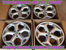 "17"" ALLOY WHEELS FITS  FORD C S MAX FOCUS KUGA MONDEO TRANSIT CONNECT S T SILVER"