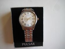 PULSAR Cal. PC32 DPRNO Men's Date Two Tone Watch New