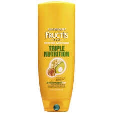 Garnier Fructis Triple Nutrition Conditioner for Dry, Damaged Hair, 13 oz