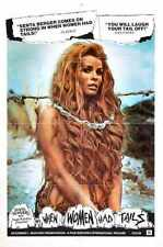 When Women Had Tails Poster 01 Metal Sign A4 12x8 Aluminium