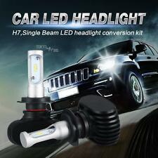 H7 Philips 180W 18000LM CSP LED Headlight Single Beam  Cool White Lamp Bulbs Kit