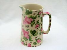 June Rose chintz one pint pitcher jug by Heron Cross Pottery