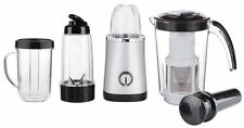 4 IN 1 ABS SILVER ELECTRIC HAND BLENDER JUG MIXER JUICER CUTTING GRINDER 220W