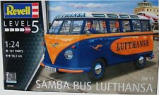 Revell Germany 1960's VW Volkswagen T1 Samba Bus Lufthansa Model Kit  1/24