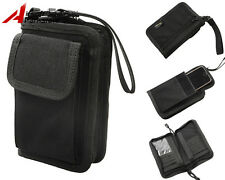Tactical Military 1000D Cordura Wallet Card Hand Bag Outdoor Phone Pouch Black