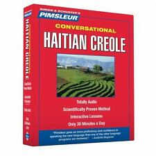 PIMSLEUR Learn/Speak HAITIAN CREOLE Language 8 CDs NEW