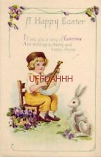 A HAPPY EASTER - I'LL SING YOU A SONG OF EASTERTIME & MAKE UP A CHEERY RHYME