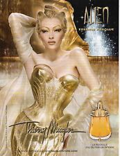 Publicité Advertising 2011  Parfum ALIEN de Thierry Mugler  essence absolue