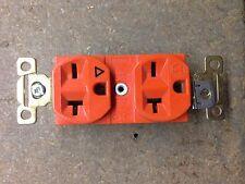 5362IG Bryant 20A 250V Receptacle Nema 6-20 Isolated Ground