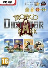 Tropico Dictator Pack (1-4) PC Game 100% Brand New