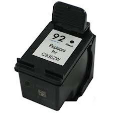 HP 92 HP92 Black C9362WN Remanufactured Ink Cartridge 60% More Output