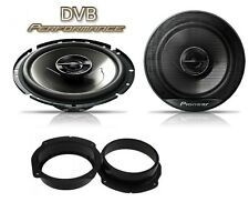 Fiat Stilo 2001-2010 Pioneer 17cm Front Door Speaker Upgrade Kit 240W