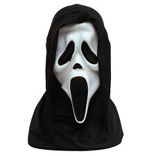 SCARY SCREAM GHOST FACE MASK ADULT FANCY DRESS PARTY ACCESSORY