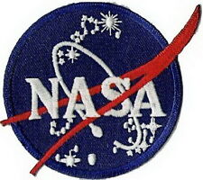 Rare Vintage NASA Flight Space Research Embroidery Iron on Patch