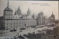 POSTAL MILITAR DE EL ESCORIAL . MADRID . HAUSER Y MENET .MAS EN MI TIENDA CC3028