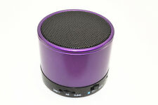 Purple Bluetooth Wireless Mini Altoparlante Portatile Per iPhone iPad MP3