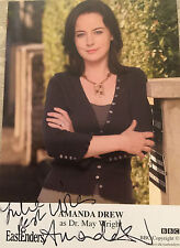 6x4 Hand Signed Photo of Eastenders Dr May Wright - Amanda Drew