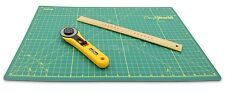 A3 Cutting Mat Board Self-Healing Green Non Slip Craft Quilting Cutting Mat Grid