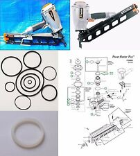 Paslode Framing Nailer F350-S O-ring and 402011 Cylinder Seal Rebuild Kit