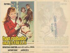 Programa de CINE. Título película: HAN ROBADO UNA ESTRELLA.