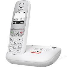 Siemens gigaset a415a/A 415 a analogique téléphone sans fil avec AB Blanc