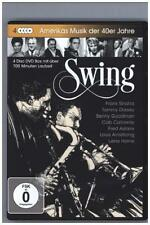 Swing - Amerikas Musik der 40er Jahre, 4 DVDs (2015)