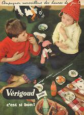 Publicité Advertising 1957  VERIGOUD soda ... C'est si bon !!  ...