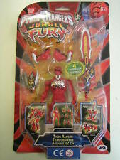 POWER RANGERS JUNGLE FURY TIGER  RANGER TRASFORMABILE ANIMALE  12 CM