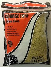 Woodland Scenics T61 Coarse Turf Yellow Grass 18 cu.in. - NIB
