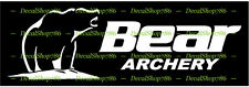 Bear Archery - Outdoor Sports - Hunting - Vinyl Die-Cut Peel N' Stick Decal