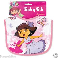 DORA THE EXPLORER! DORA LA EXPLORADORA! BABY BIB! DORA PRINCESS! FREE SHIP! NEW!