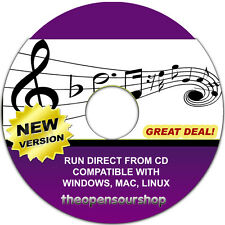 Pro Audio Composer Notation Software Package CD – Learn To Create Sheet Music