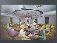 Indianapolis Indiana IN Purple Tree Lounge Color Chrome Postcard 1960s