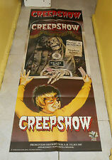 original CREEPSHOW FRENCH 61x23 DOOR PANEL POSTER Stephen King George A. Romero